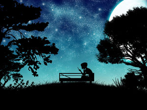 黑暗中独自聆听