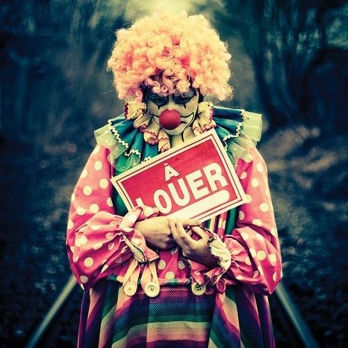 小丑与旋转木马---小提琴