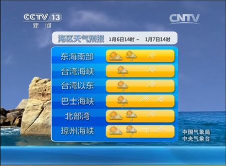 央视新闻频道天气预报背景音乐