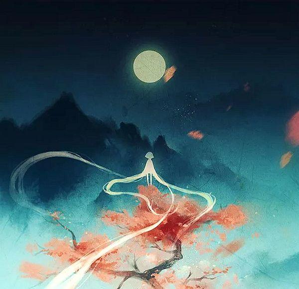 祇月·临风舞