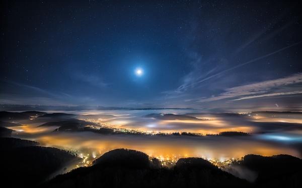 夜空中最亮的星(纯音乐-电子迷幻钢琴哼唱版)