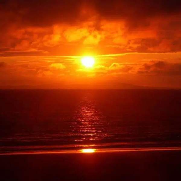 Sunset in my heart