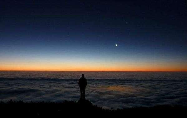 寂静的夜空