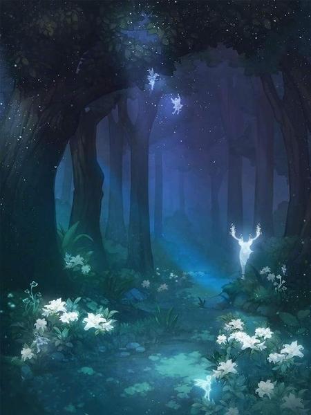 森林的月亮音樂盒