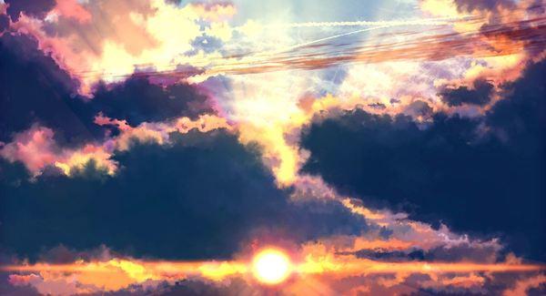 写在天空的告白