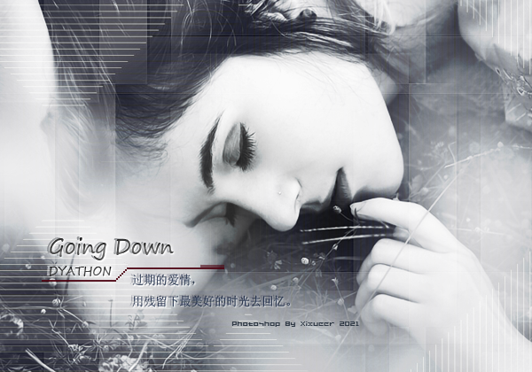 Going Down (Emotional Piano Music)
