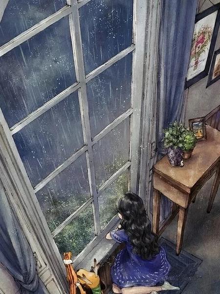雨后的回忆