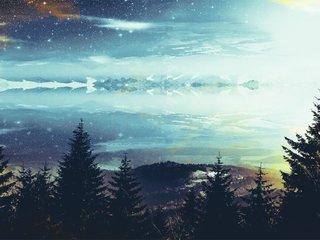 孤独的星空和孤独的我