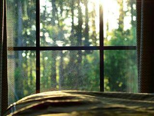 窗外清晨依旧温暖